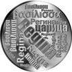 Česká jména - Regína - velká stříbrná medaile 1 Oz