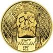 Relikvie Sv. Václava - II. -  1/2 Oz zlato Proof