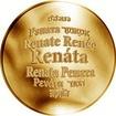 Česká jména - Renáta - zlatá medaile