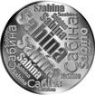 Česká jména - Sabina - velká stříbrná medaile 1 Oz