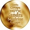 Česká jména - Sandra - zlatá medaile