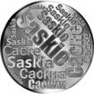 Česká jména - Saskie - velká stříbrná medaile 1 Oz