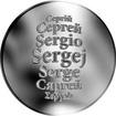 Česká jména - Sergej - stříbrná medaile