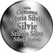 Česká jména - Silvie - stříbrná medaile