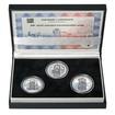 SESTROJENÍ STAROMĚSTSKÉHO ORLOJE - návrhy mince 200,-Kč - sada tří Ag