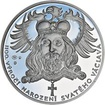1100. výročí narození sv. Václava - stříbro 1Oz Proof