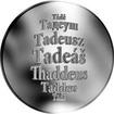 Česká jména - Tadeáš - stříbrná medaile