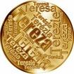 Česká jména - Tereza - velká zlatá medaile 1 Oz