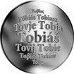 Slovenská jména - Tobiáš - velká stříbrná medaile 1 Oz