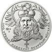 1100. výročí narození sv. Václava - stříbro 1Oz b.k.