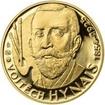 Vojtěch Hynais - 160. výročí narození zlato Proof