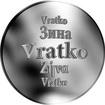 Slovenská jména - Vratko - velká stříbrná medaile 1 Oz
