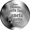 Česká jména - Žaneta - stříbrná medaile