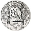 Relikvie Sv. Václava - II. - 1 Oz Ag b.k.