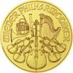 Zlatá mince Philharmoniker 1/10 Oz 2017