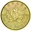 Zlatá mince Maple Leaf 1/10 Oz 2017