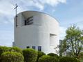 Nový kostel ve Sazovicích je výjimečná stavba