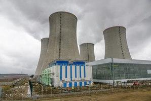 ventilátorové věže - JE Dukovany