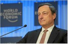 Draghi (ECB): Nevidím žádnou přesvědčivou akceleraci inflace. QE může být rozšířen, když to bude potřeba