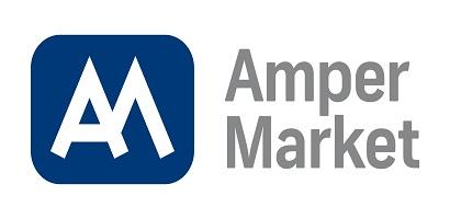 Logo Amper Market, a. s.