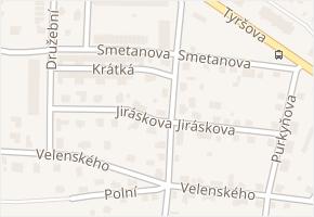 Jiráskova v obci Bělá pod Bezdězem - mapa ulice