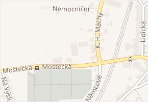 Mostecká v obci Bílina - mapa ulice