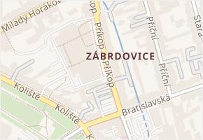 Příkop v obci Brno - mapa ulice