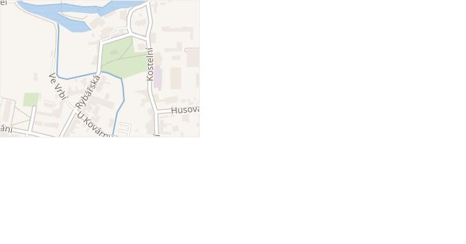 Rybářská v obci Čelákovice - mapa ulice