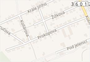 Prokopova v obci Česká Třebová - mapa ulice