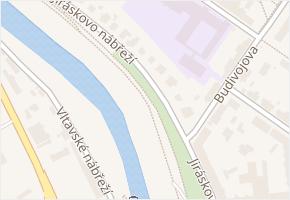 Jiráskovo nábř. v obci České Budějovice - mapa ulice