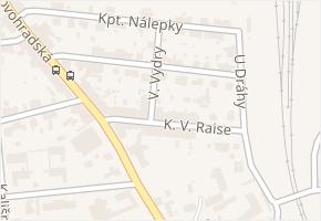 Kpt. Jaroše v obci České Budějovice - mapa ulice