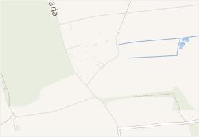 U Hada v obci České Budějovice - mapa ulice