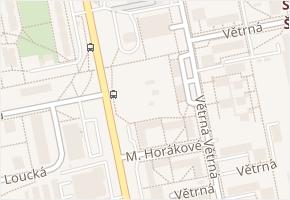 U Lesa v obci České Budějovice - mapa ulice