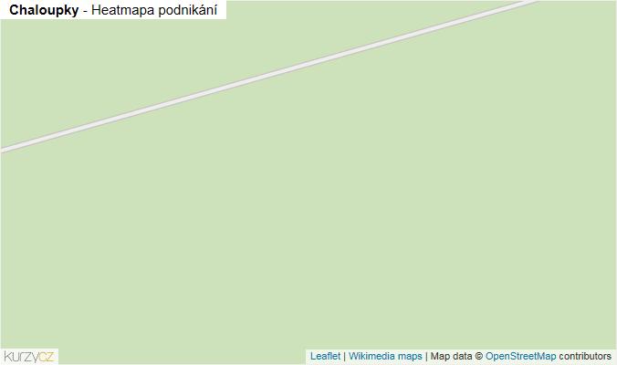 Mapa Chaloupky - Firmy v obci.