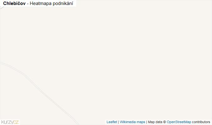 Mapa Chlebičov - Firmy v obci.