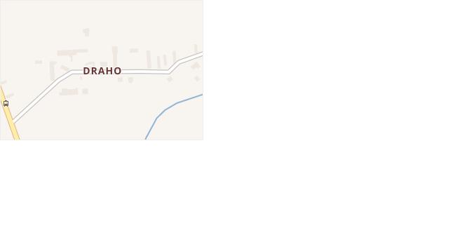 Draho v obci Chleby - mapa části obce
