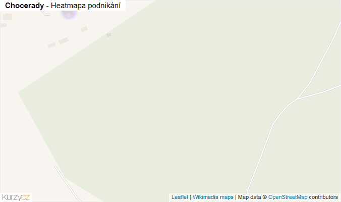 Mapa Chocerady - Firmy v obci.