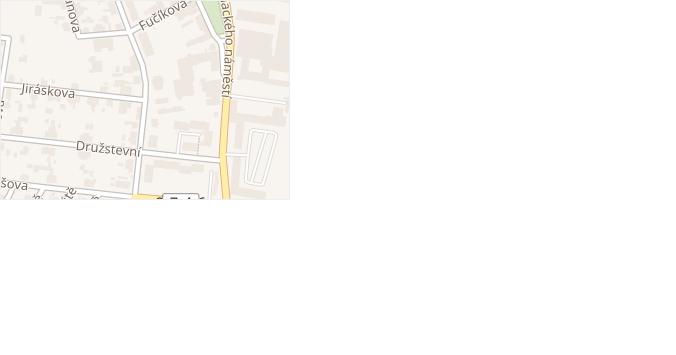 Jiráskova v obci Dobrovice - mapa ulice