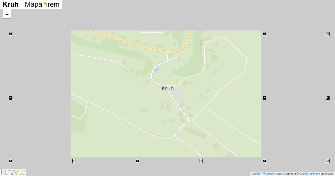 Kruh - mapa firem