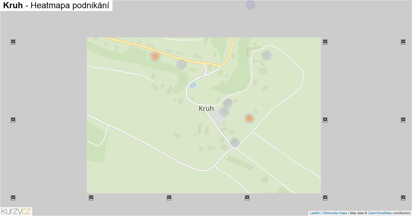Kruh - mapa podnikání