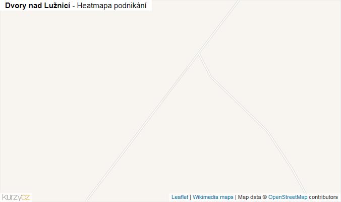 Mapa Dvory nad Lužnicí - Firmy v obci.