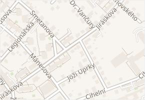 Jiráskova v obci Frýdek-Místek - mapa ulice