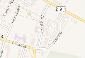 Družstevní v obci Frýdlant - mapa ulice
