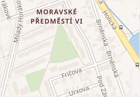 Pod Zámečkem v obci Hradec Králové - mapa ulice