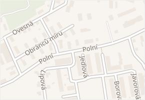 Polní v obci Kadaň - mapa ulice