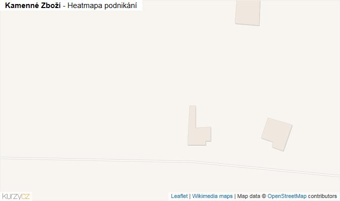 Mapa Kamenné Zboží - Firmy v obci.