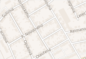Vrchlického v obci Kladno - mapa ulice