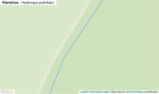 Mapa Klentnice - Firmy v obci.