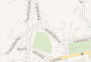 Prokopova v obci Kostelec nad Černými Lesy - mapa ulice
