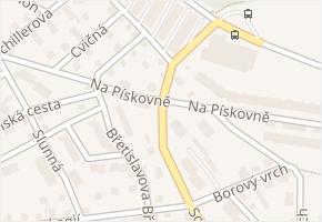 Na Pískovně v obci Liberec - mapa ulice